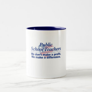Public School Teachers Make Difference Mug