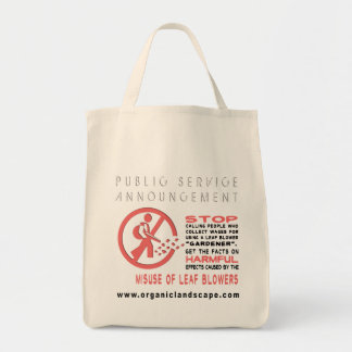 Public Service Annoucement #1 Bags