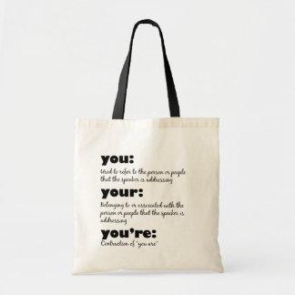 public service announcement bag