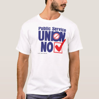 Public Service Union NO - shirt