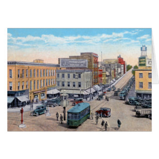 Public Square at Hagerstown Maryland Greeting Cards