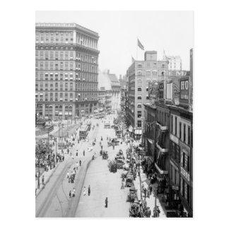 Public Square, Cleveland: 1915 Postcard