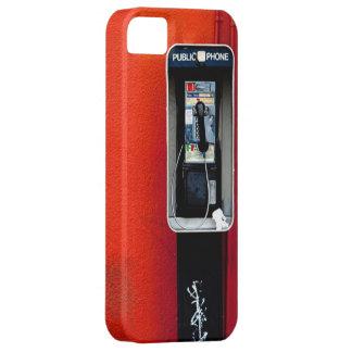 Public Telephone iPhone SE/5/5s Case