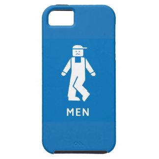 Public Toilet Men, Sign, California, US iPhone 5 Covers