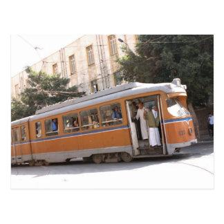 Public transit in Alexandria Egypt Postcard