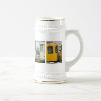 Public Transport Photography Beer Stein