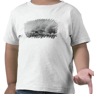 Publicación de la ley marcial en camiseta