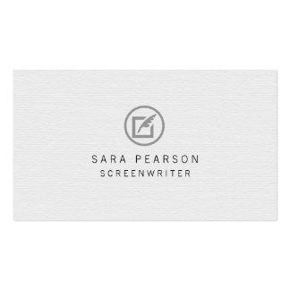Publicación de papel del icono de la canilla del tarjetas de visita