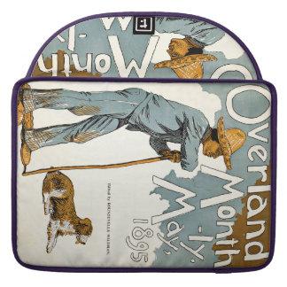 Publicación mensual terrestre. Mayo de 1895 Fundas Para Macbook Pro