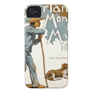 Publicación mensual terrestre. Mayo de 1895 iPhone 4 Case-Mate Protector