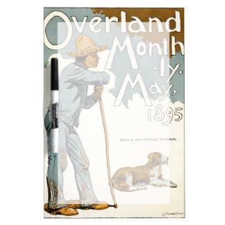 Publicación mensual terrestre. Mayo de 1895 Tableros Blancos