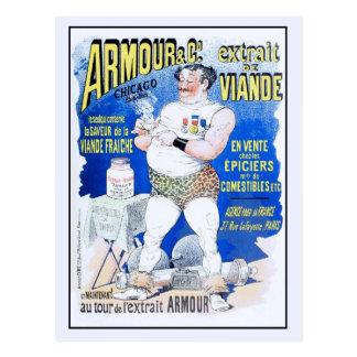 publicidad 1890 del extracto de carne del Ca Postales