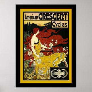 Publicidad creciente americana de Cycles~Vintage Impresiones