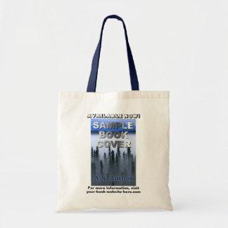 Publicidad de la cubierta de libro de la promoción bolsa tela barata