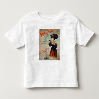 """Publicidad de poster """"Abricotine"""", hecho por P. Playera De Bebé"""