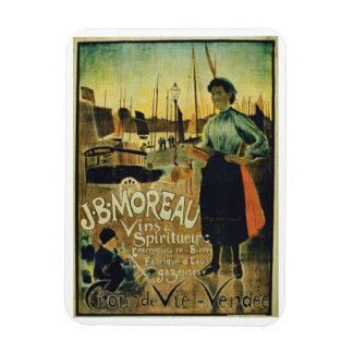 """Publicidad de poster """"Croix de Vie"""", hecho por J.B Imanes Rectangulares"""