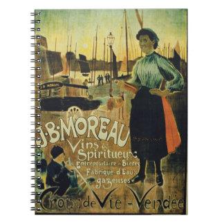 Publicidad de poster Croix de Vie hecho por J B Libros De Apuntes