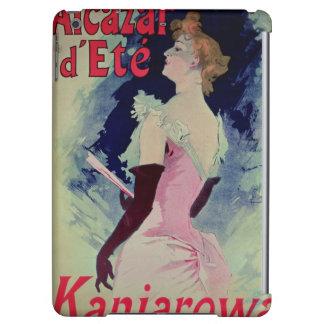"""Publicidad de poster """"d'Ete del Alcazar """""""