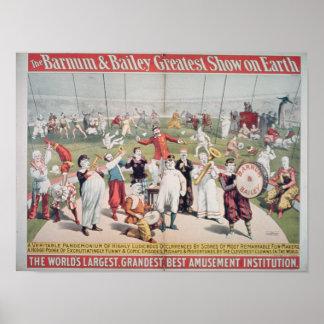 Publicidad de poster el Barnum
