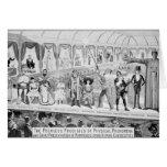 Publicidad de poster, 'el Barnum y el Bailey Felicitación
