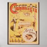 Publicidad de poster el d'Ete de Cirque en