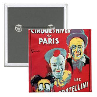 Publicidad de poster el 'd'Hiver de la París de Ci Pin Cuadrado
