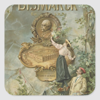 Publicidad de poster el Fahrrad Werke Bismarck