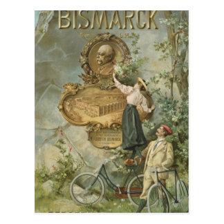 Publicidad de poster el Fahrrad Werke Bismarck Postales