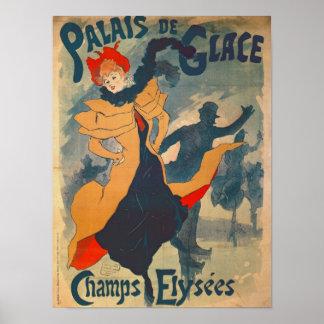 Publicidad de poster el Palais de Glace