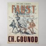 Publicidad de poster 'Faust