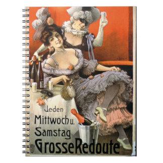 Publicidad de poster Grosse Redoute litho del c Cuaderno
