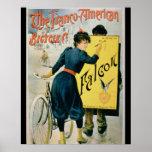 Publicidad de poster 'la bicicleta Franco-American