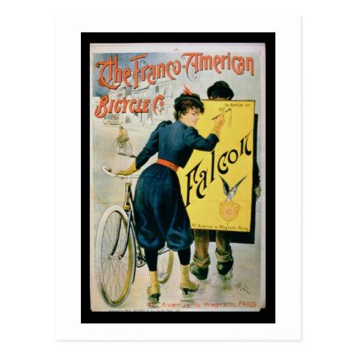 Publicidad de poster 'la bicicleta postales