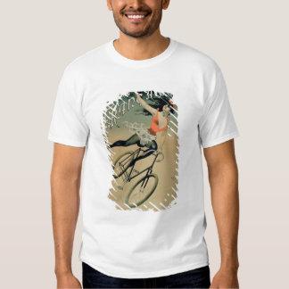 """Publicidad de poster """"La Francaise de Societe"""", Camisas"""