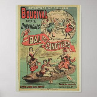 Publicidad de poster 'Le Bal des Canotiers