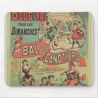 Publicidad de poster 'Le Bal des Canotiers Tapetes De Ratón