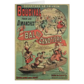 Publicidad de poster 'Le Bal des Canotiers Felicitación