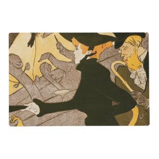 """Publicidad de poster """"Le Divan Japonais"""", 1892 2 Salvamanteles"""
