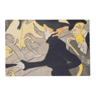 """Publicidad de poster """"Le Divan Japonais"""", 1892 Tapete Individual"""