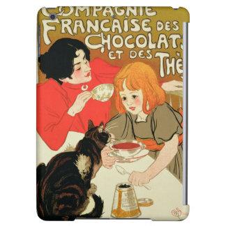 Publicidad de poster los French Company del chocol
