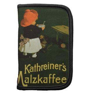 Publicidad de poster para la 'malta Coffee de Kath Planificadores