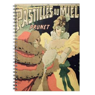 Publicidad de poster pastillas de la miel por Pr Libro De Apuntes Con Espiral