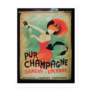 "Publicidad de poster ""Pur Champán"", de Damery, E Postal"