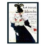 Publicidad de revista de Toulouse Lautrec Tarjeta Postal