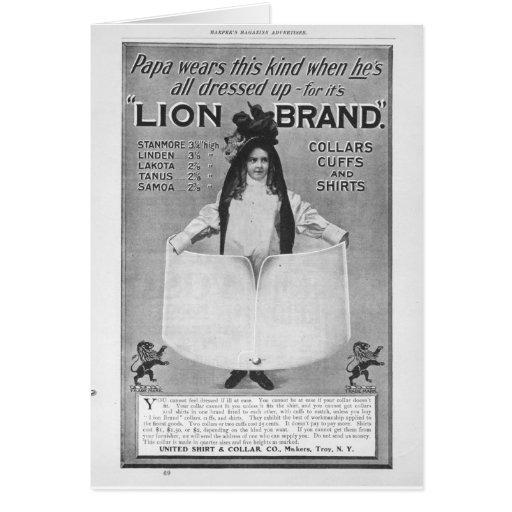 Publicidad del comienzo del siglo XX Felicitaciones