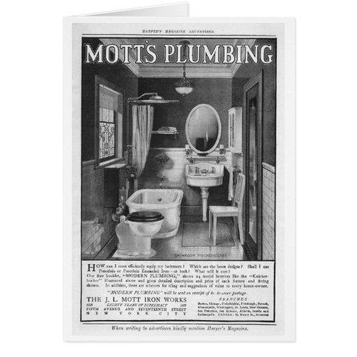 Publicidad del comienzo del siglo XX Tarjetas
