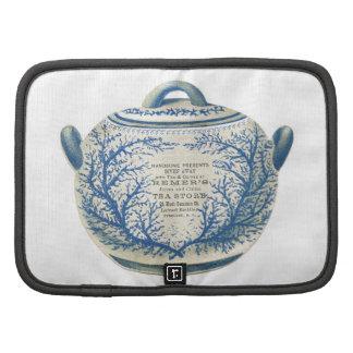 Publicidad del té del Victorian Organizador