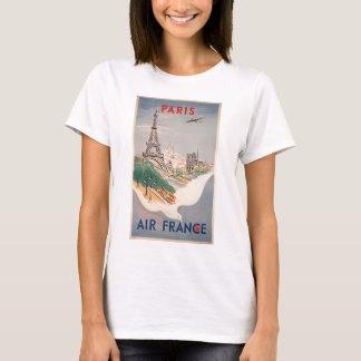Publicidad del transporte aéreo de París de la Playera