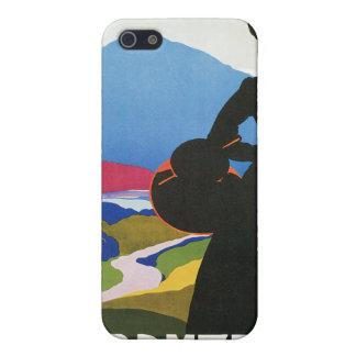 Publicidad del viaje del vintage de Abruzos, iPhone 5 Funda