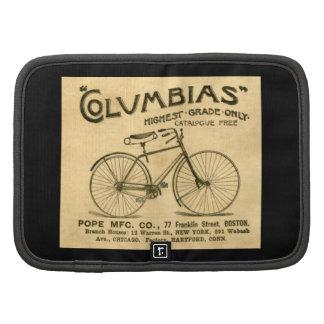 Publicidad del Victorian - bicicletas de Columbias Planificadores